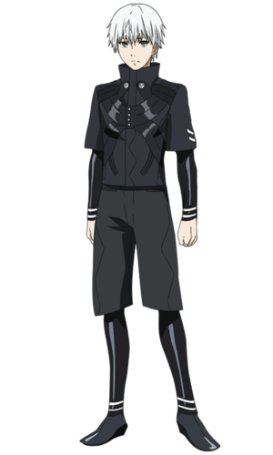 Kaneki Root A anime design front view