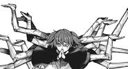 Saiko's kagune manipulation – multiple hands