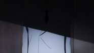 Kanou in the shadows after the 11th Ward battle