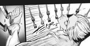 Mutsuki's advanced knife throwing technique – juggling