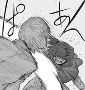 Saiko punched some senses to Mutsuki