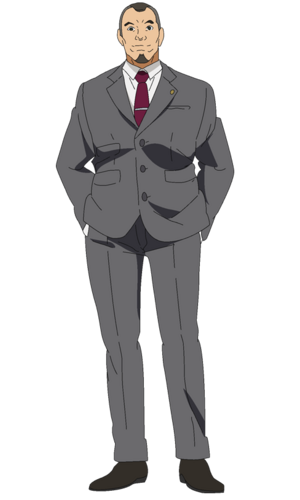 Shinohara anime design front view