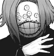 Kanae's creepy mask