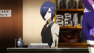 Touka at work