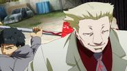 Amon getting behind Yamori