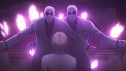 Gagi and Guge sacrifice themselves to protect Naki re anime