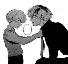 Kaneki and Haise
