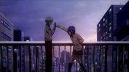 Touka angry at Kaneki