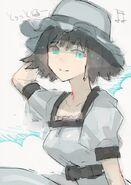 Mayuri Shiina illustration