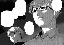 Nishio parla con Kaneki