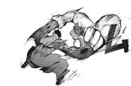 Urie vs Saiko