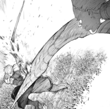 Kaneki distrugge Gufo