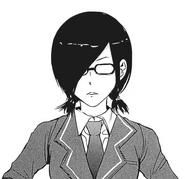 Touka's disguise (school uniform)
