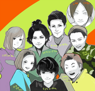 Cast stage play by Ishida