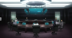 Special class investigator meeting in the anime