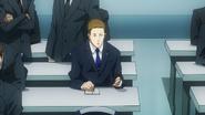 Hirako preparing for the meeting