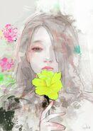 Illustration von Lady Vengeance