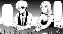Kaneki parla con Itori