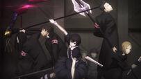 Suzuya with his squad re anime