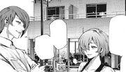 Touka and Tsukiyama Meet