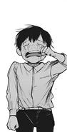 Child Kuki cries