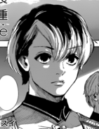 Haise at the ceremony