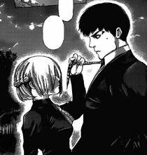 Amon Akira al cimitero