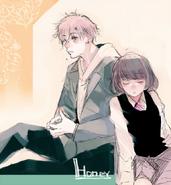 Ishidas Illustration von Honey So Sweet