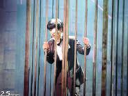Kaneki in a cage