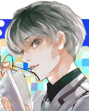 Haise Sasaki on the cover of re volume 1