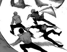 Takeomi e i suoi superiori sconfiggono Haise