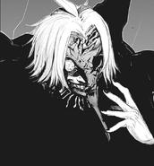 Takizawa's half-kakuja mask