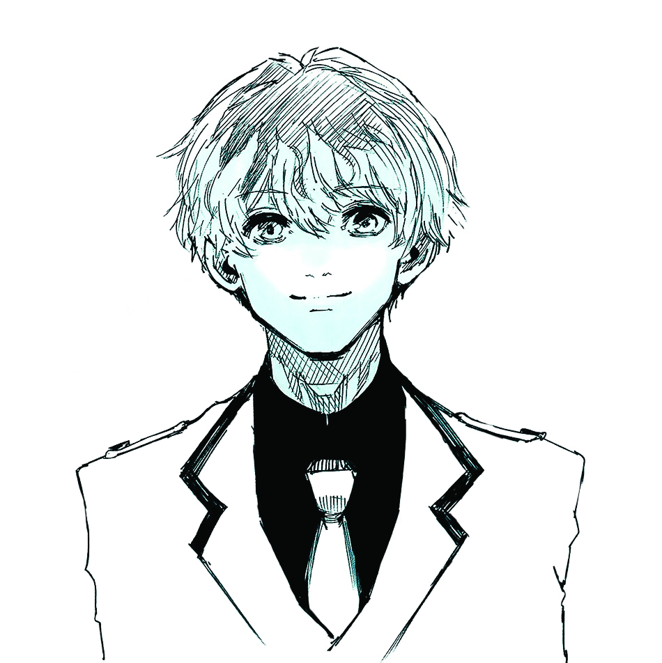 Special Illustration Calendar Tokyo Ghoul : Image haise sasaki s birthday illustration in the