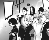 Mutsuki e Squadra Juuzou