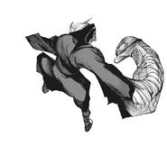 Takizawa's armored fist