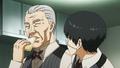 Yoshimura teaching Kaneki how to pretend to eat.png