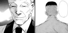 Shinohara saluta Yoshimura