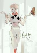 Ishidas Illustration von Hisoka aus Hunter x Hunter