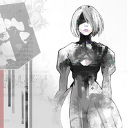NieR Automata OST Vinyl Cover by Ishida Sui