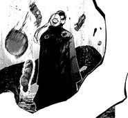 Noro exterminates Doves in the Aogiri arc