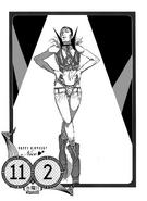 Nico's birthday illustration in the 2016 calendar on November 2nd