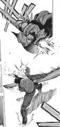 Kuroiwa against One-eyed Owl