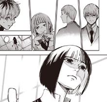 Koori inizia a piangere ripensando a tutte le persone che ha perso