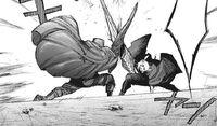 Amon facing off against Takizawa
