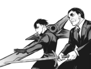 Iwao and Urie are ready to fight side by side