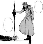 Arima sconfigge Kaneki