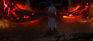 Tatara slaughters investigators with his kagune