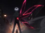 Kagune di Sasaki anime