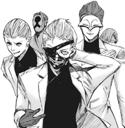 Kaneki and The White Suits
