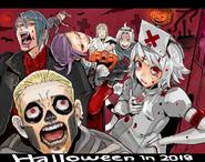 Halloween 2018 Illustration by Ishida Sui (31 october 2018)